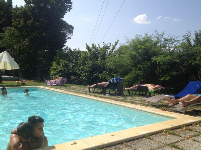 Una piscina vicino firenze villa castiglione - Piscina interrata piccola ...