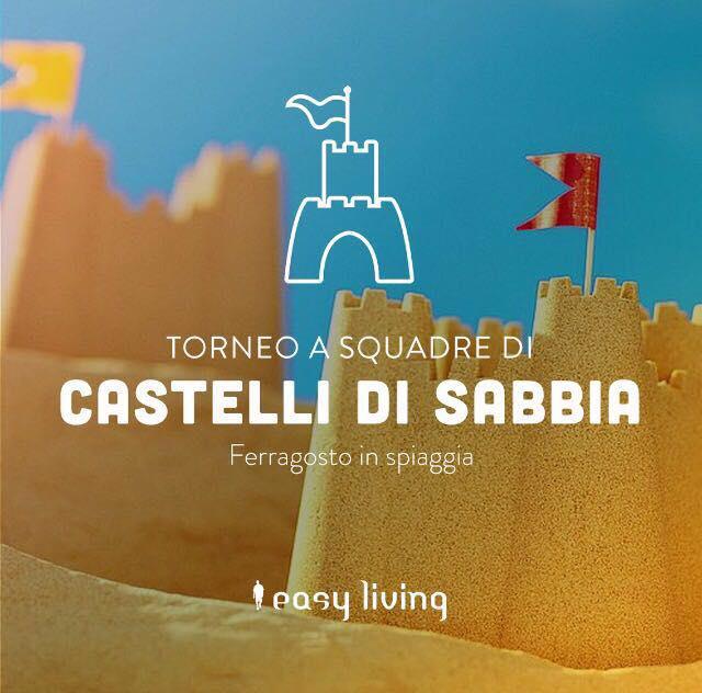 castelli di sabbia easy living