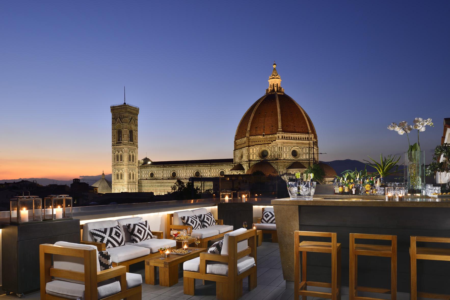Grand Hotel Cavour Terrazza Vista Duomo Io Amo Firenze