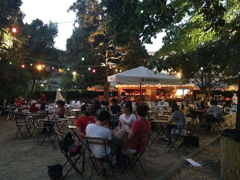 Riaperto lo spazio estivo del giardino dell 39 orticoltura for Giardino orticoltura firenze aperitivo