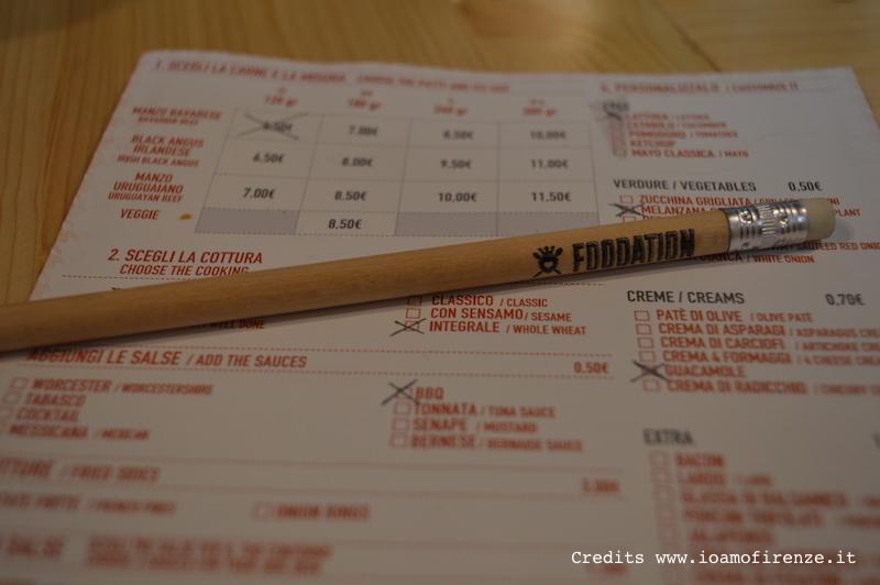 menu foodation