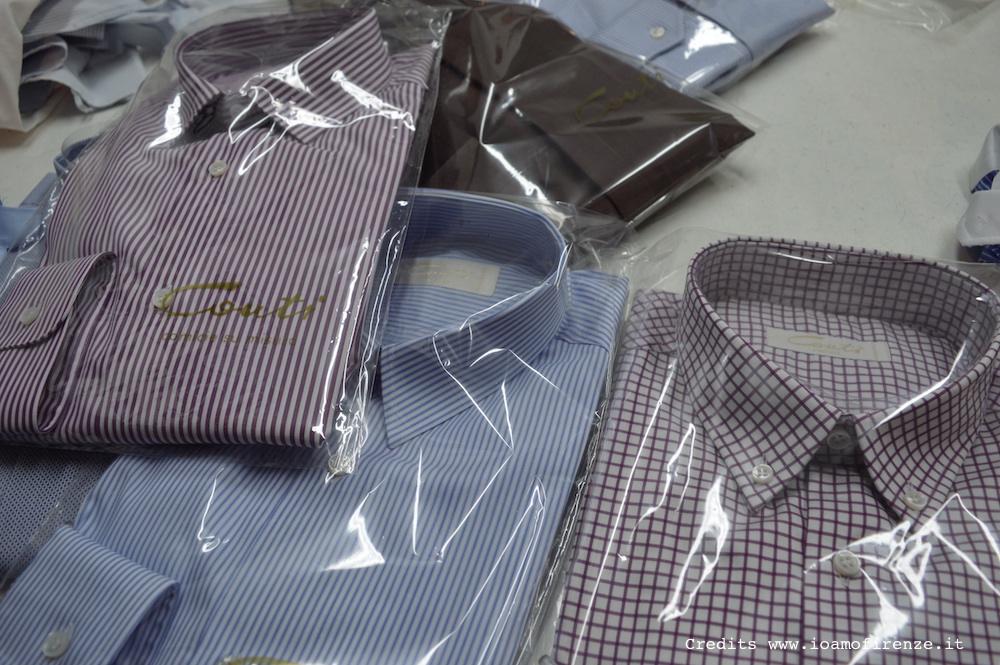 camicie conti su misura