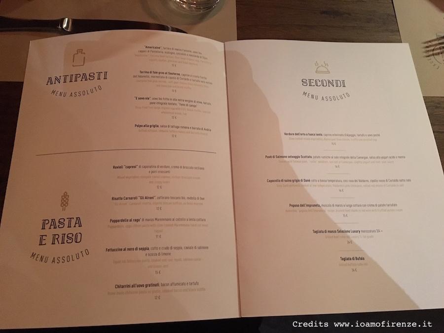 menu bixtrot
