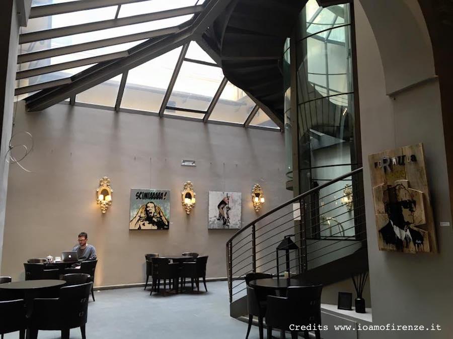 lobby borghese palace firenze