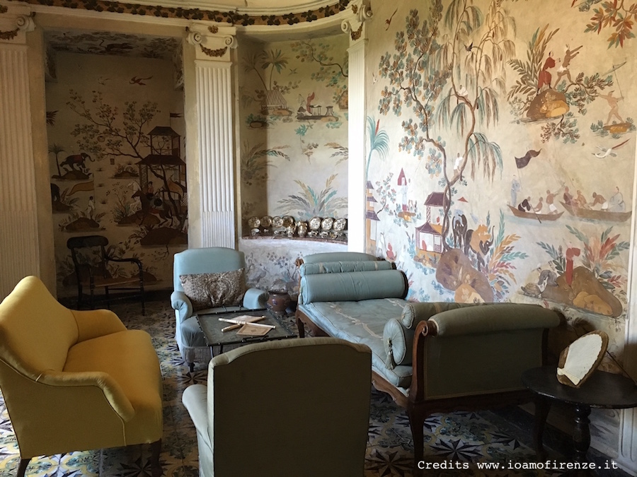 china room villa lilliano