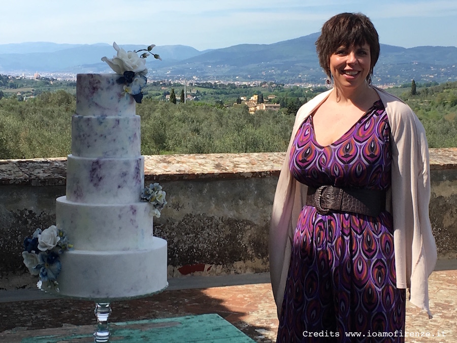 tuscan wedding cake melanie