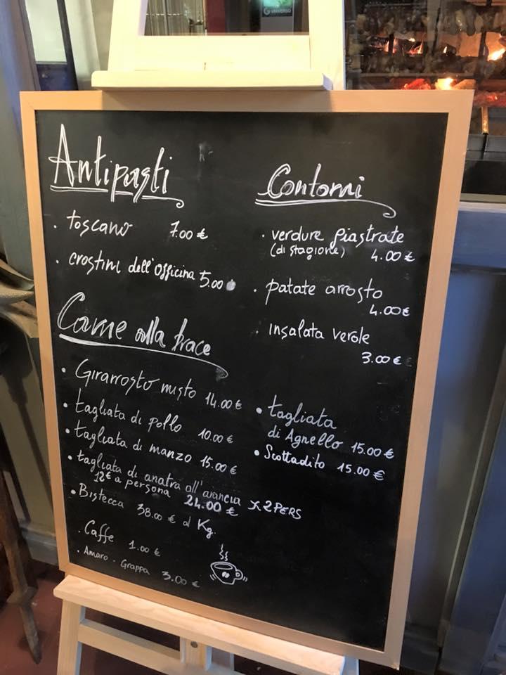 menu officina san pancrazio