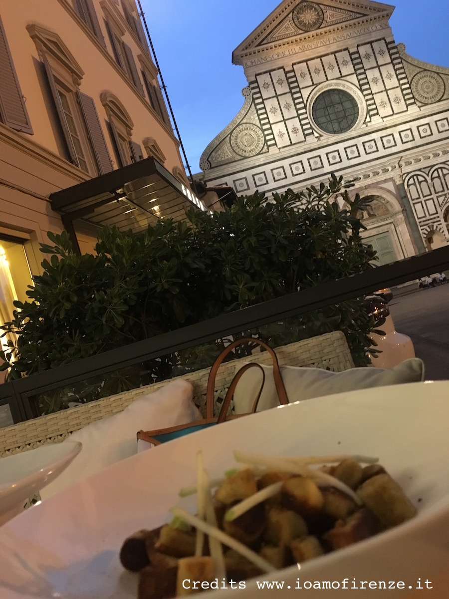 cena in piazza santa maria novella