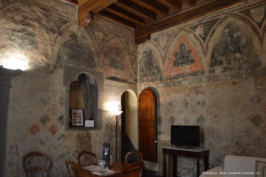 sala affrescata palazzo belfiore