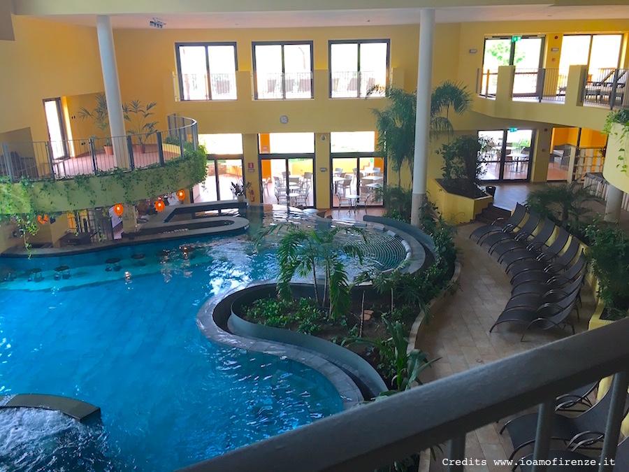 piscina riscaldata Spa
