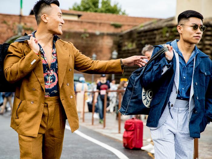 pitti uomo 96: scopri quali sono i trend della moda maschile 2020
