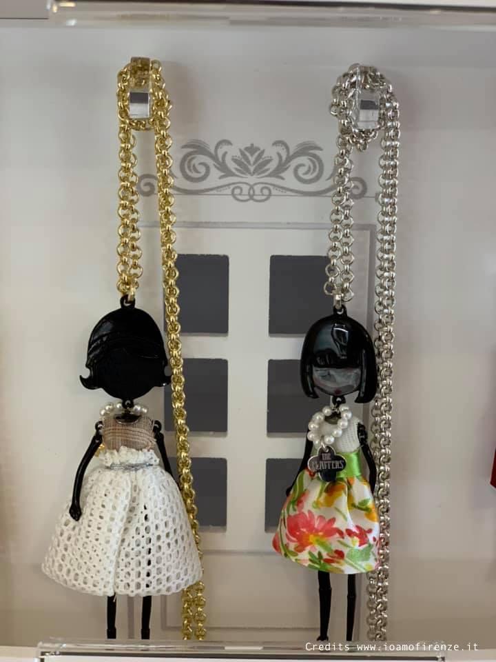 collane con bambole le carose collezione flappers