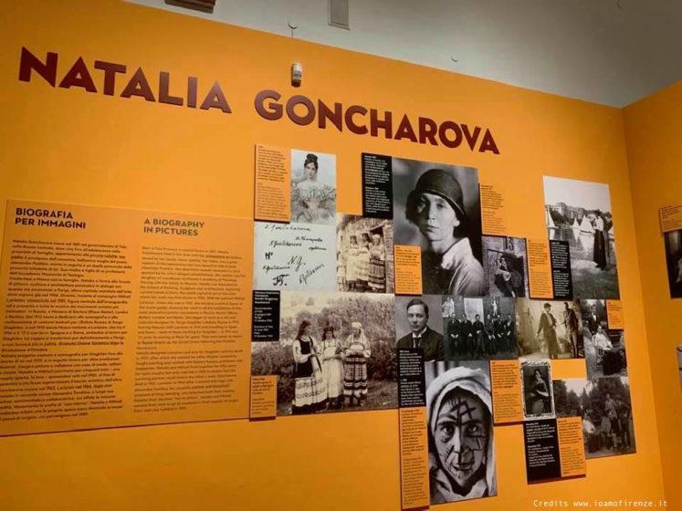 natalia goncharova mostra palazzo strozzi