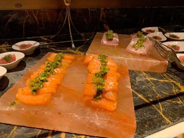 buffet salato crudo brunch hotel savoy