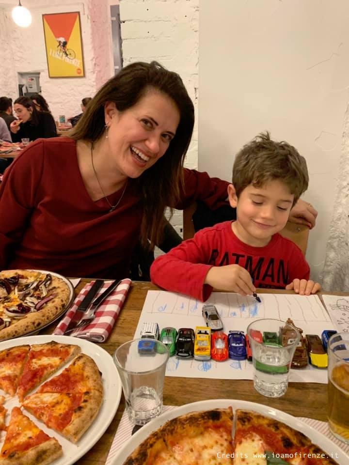 pizzeria per famiglie