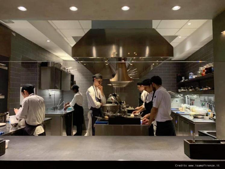 ristorante 1 stella michelin cucina a vista