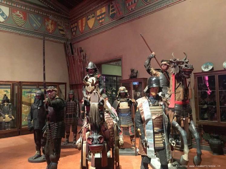 sala armature giapponesi