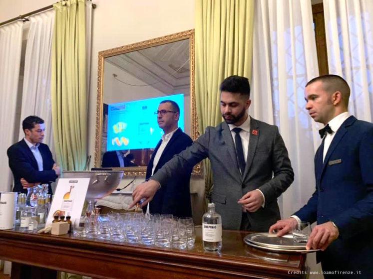 ginepraio presentazione al four seasons con edoardo sandri e gabriele rondani