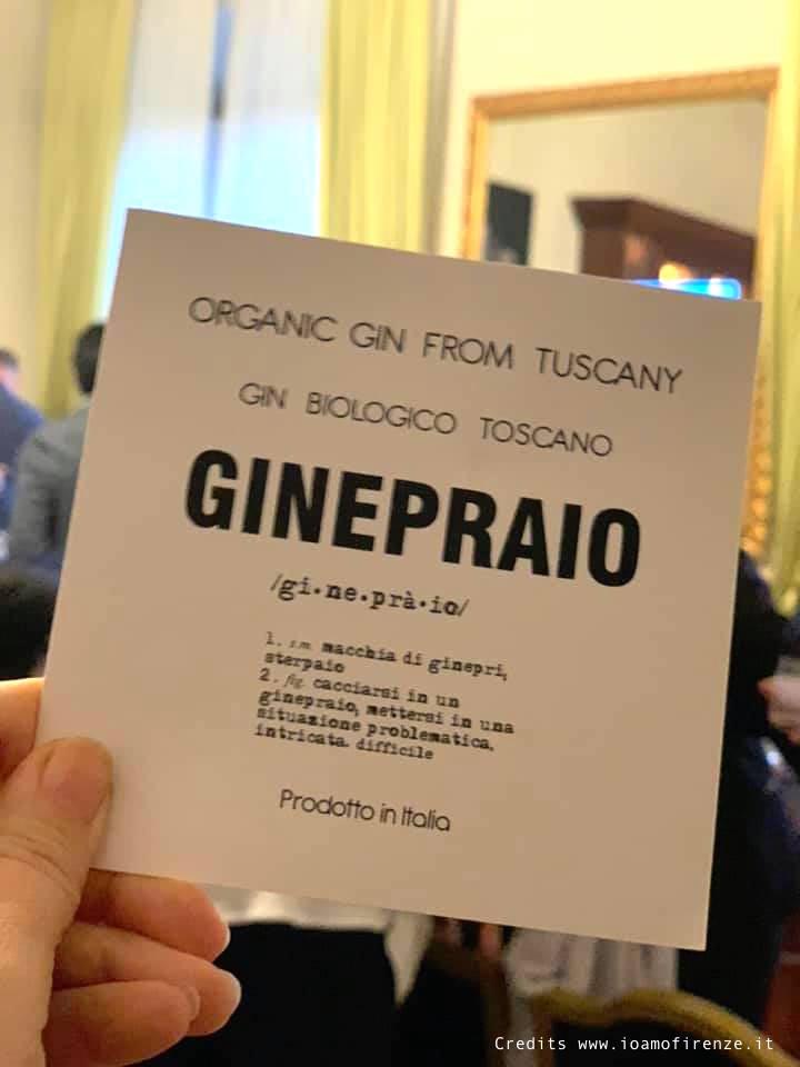 gin ginepraio organic from tuscany