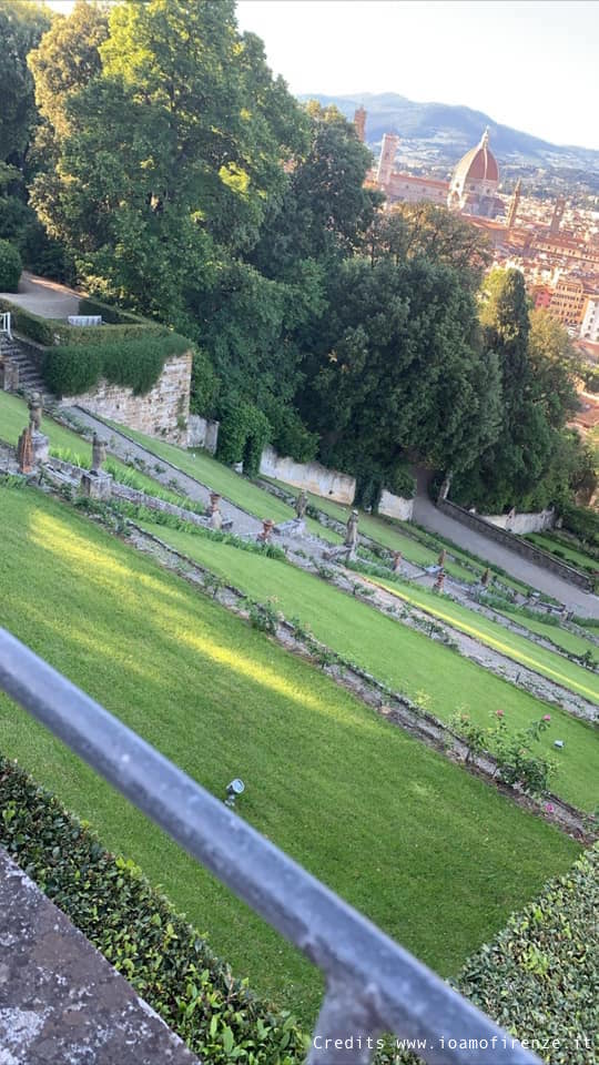 giardino di villa bardini
