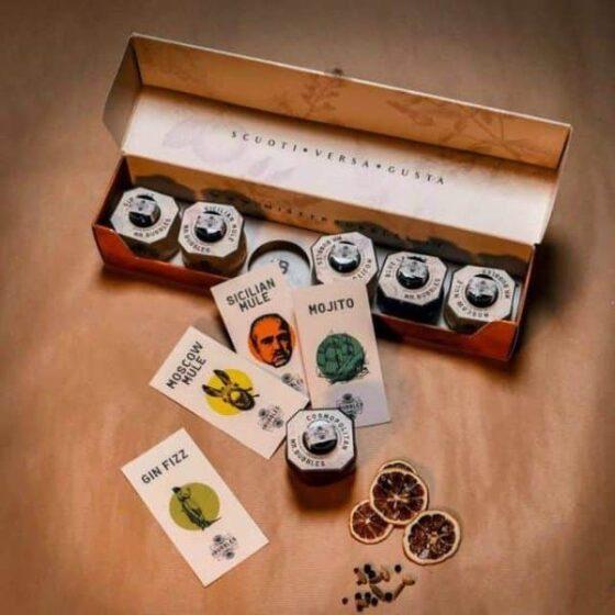 Box regalo con cocktail artigianali