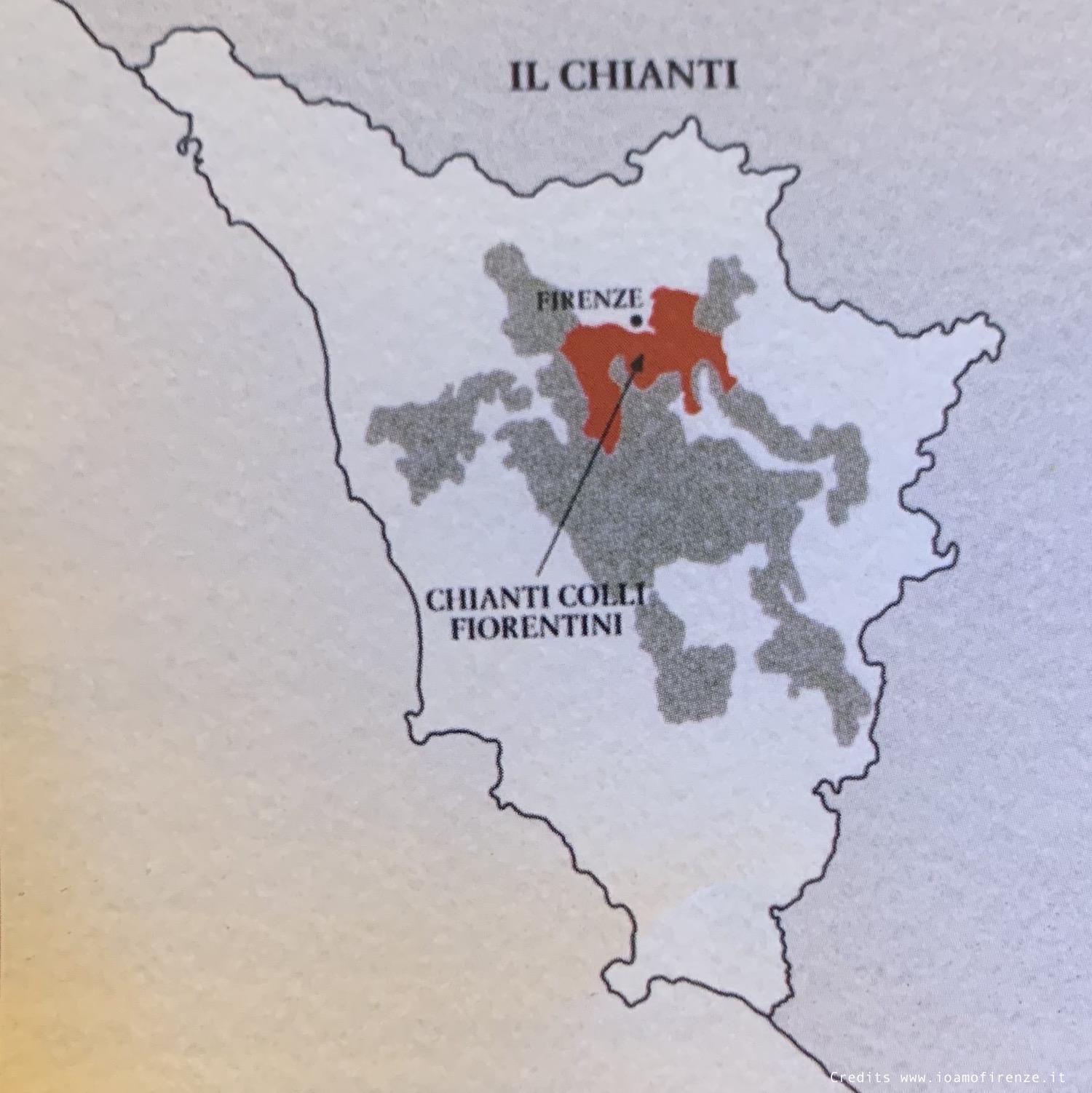 area chianti colli fiorentini